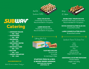 subwaycatering