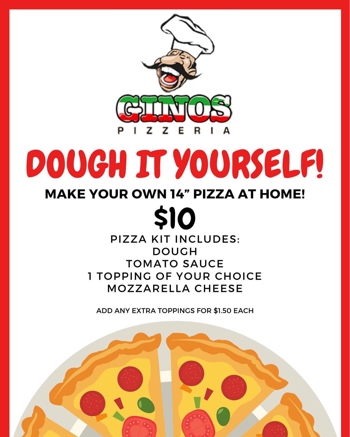 Dough it Yourself! Make your own Pizza at Home for $10