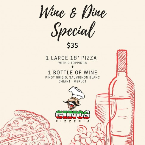 Wine & Dine Special